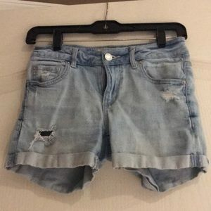Garage Size 0 Jean Shorts